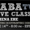 Free Body Painting Class with Athena Zhe