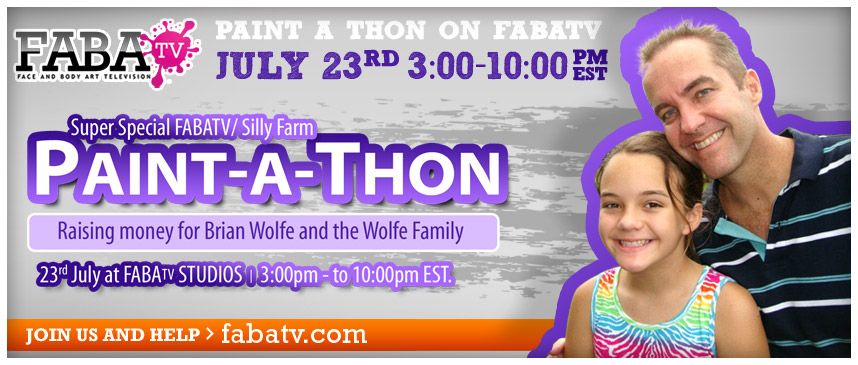 Paint-A-Thon for Brian Wolfe